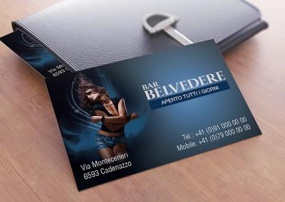 Biglietto da Visita Bar Belvedere