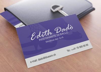Biglietto da Visita Edith Dadò