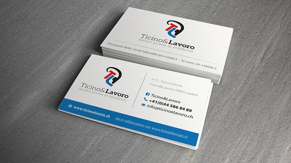 Biglietto da Visita Ticino e Lavoro