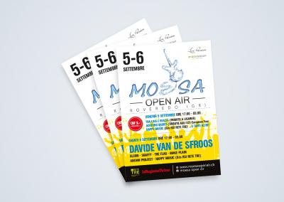 Volantino Moesa Open Air