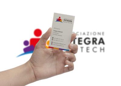 Biglietto da visita Integra edutech