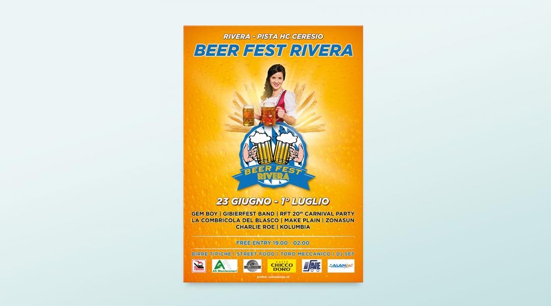 Poster Beer Fest Rivera
