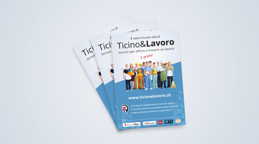 Volantino Ticino & Lavoro