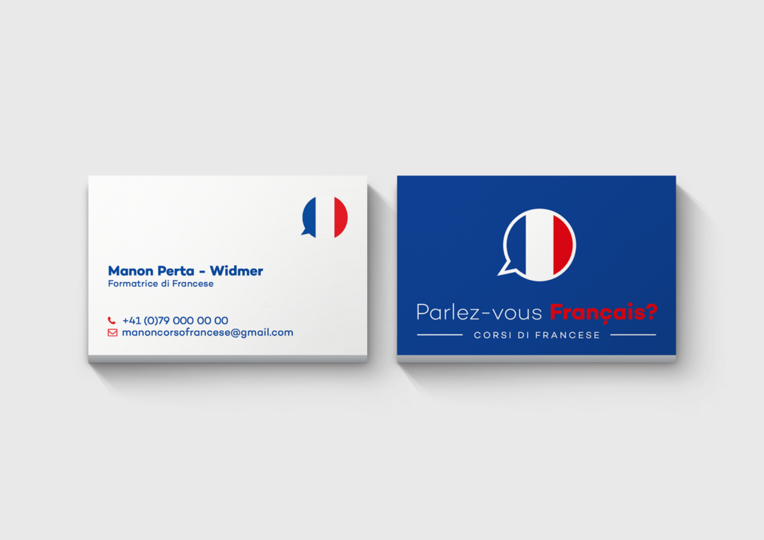 Biglietto da visita Manon Perta