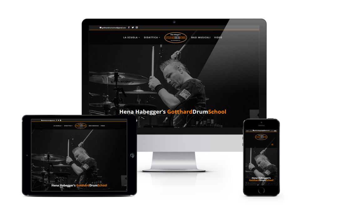 Sito internet Gotthard Drum School