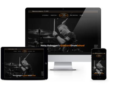 Sito internet Gotthard Drum School
