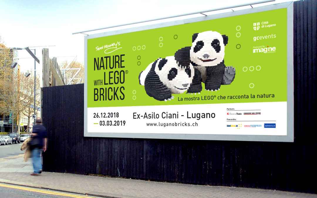 Sean Kenney Nature with LEGO® bricks
