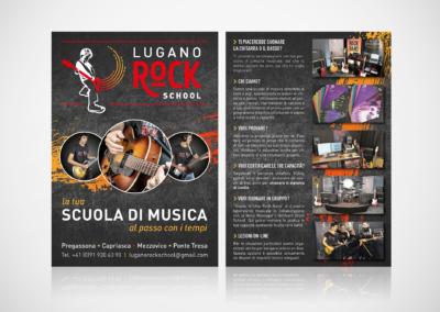 Volantino Lugano Rock School
