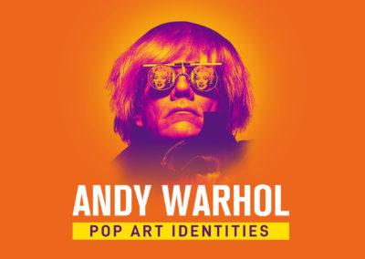 Andy Warhol Pop Art Identities